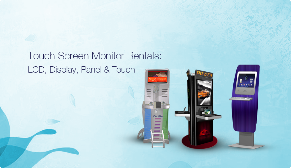 Touch Screen Monitor Rentals