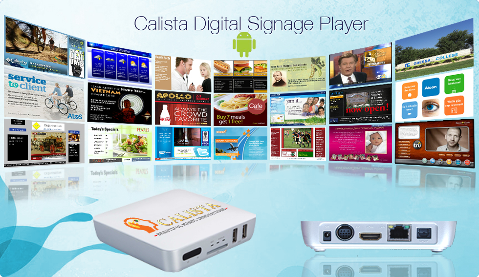 Calista Didital Signage Player