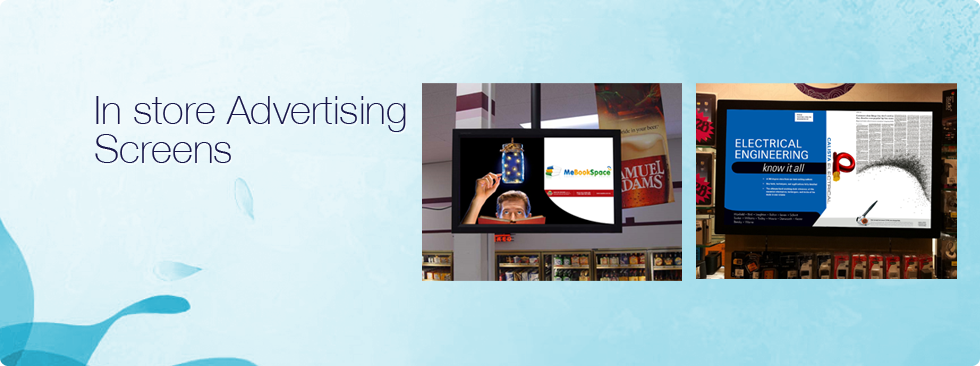In store Advertising Screens